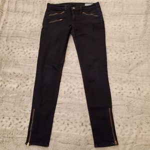 Rag and Bone Jean's with zippered ankle